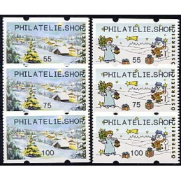 AUSTRIA (2010). PHILATELIE.SHOP (Inv. 3). Series 3 val.