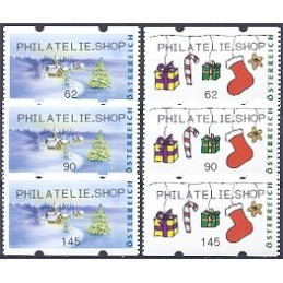 AUSTRIA (2011). PHILATELIE.SHOP (Inv. 4). Series 3 val.