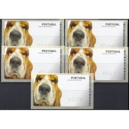 PORTUGAL. Animais. NewVision . Serie 5 val. (Perro)