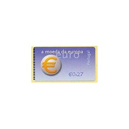 PORTUGAL (2002). Euro, a moeda - NewVision. ATM nuevo