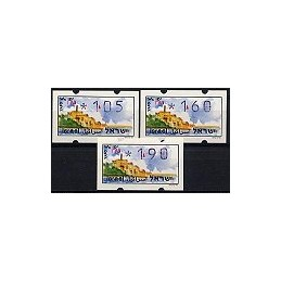 ISRAEL (1994). Turismo - Yafo. Serie 3 val. (x1,05)