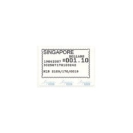 SINGAPUR (2007). Singapore Post - SFS. Sello nuevo