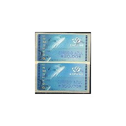 PORTUGAL (1998). EXPO 98 - SMD. Serie 2 val. (C. AZUL)