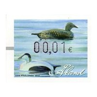 2012. Wooden duck decoys (1). Eider duck