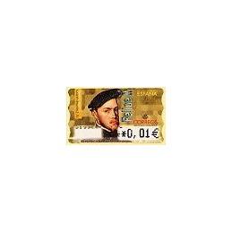 ESPAÑA. 28E. Felipe II. EUR-5A. ATM nuevo (0,01)