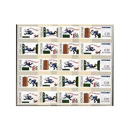 ISLAS FEROE (2008). Correo (1.2). ATMs nuevos (tiras x 4)