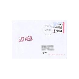 EEUU (--). Stamps.com - Rollo. Sobre (2009)