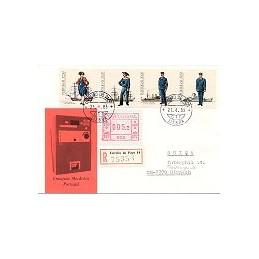 PORTUGAL (1981). Frama - 002. Sobre certificado (1983)