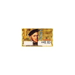 ESPAÑA. 28E. Felipe II. EUR-5E. ATM nuevo (0,01)
