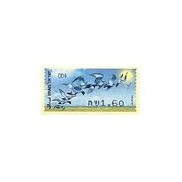 ISRAEL (2009). Aves rapiña - 004. ATM nuevo
