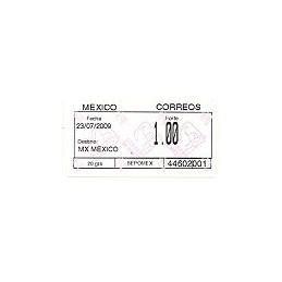MÉXICO (2009). Emisión SIO (2) - 44602. Sello nuevo