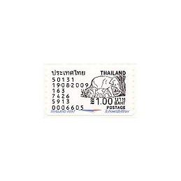 TAILANDIA (2009). Elefante - 6605. Sello nuevo (1.00)