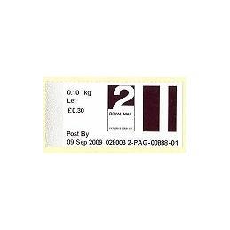 R. UNIDO (2009). Post&Go (2) - 028003 2. Sello nuevo (2 Let)