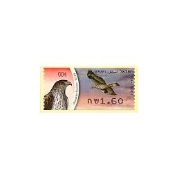 ISRAEL (2009). Águila perdicera - 004. ATM nuevo