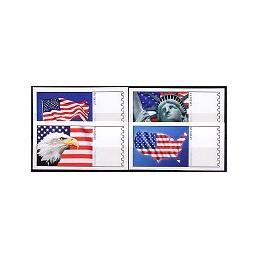 EEUU (2009). 1711. Liberty. Etiquetas en blanco
