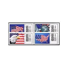 EEUU (2009). 1711. Liberty. Etiquetas test