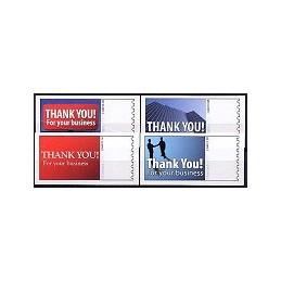EEUU (2009). 1712. Thank You. Etiquetas en blanco