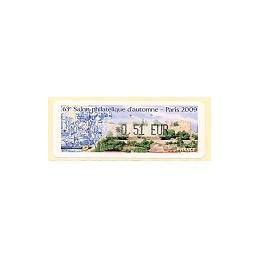 FRANCE (2009). 63 Salon - Portugal. ATM nuevo (0,51)