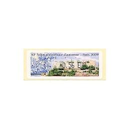 FRANCE (2009). 63 Salon - Portugal. ATM nuevo (0,56)