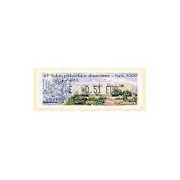 FRANCE (2009). 63 Salon - Portugal. ATM nuevo (E 0,51)