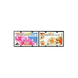 AUSTRIA (2010). SONDERPOSTAMT (Flores 2). ATMs nuevos (01)