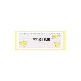 FRANCIA (2008). Aviones papel (2.2). ATM nuevo
