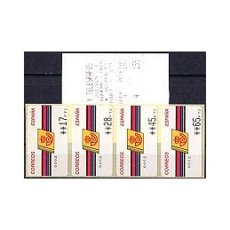 ESPAÑA. 4.3.2. Emblema postal - FNMT. PTS-4CB. Serie 4 val. (2)