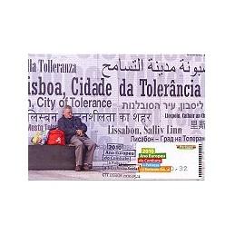 PORTUGAL (2010). Pobreza - Amiel NEGRO. Tarjeta máxima