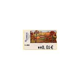 ESPAÑA. 92. Sammer Gallery. El Otoño. 5A. ATM nuevo (0,01)