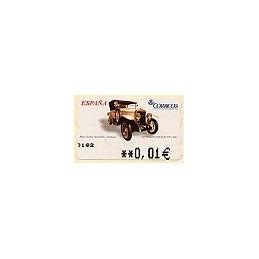 ESPAÑA. 93. Hispano Suiza 20-30 HP. 5A. ATM nuevo (0,01)