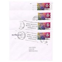 ESPAÑA. 11.1. Emblema postal (2). PTS-4 Mobba. Sobres (serie)