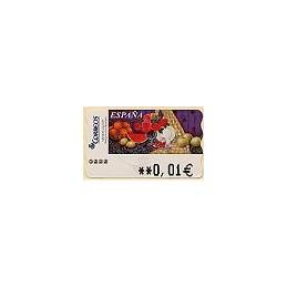 ESPAÑA. 97. Sammer G. Bodegón Naranjas. 5A. ATM nuevo (0,01)