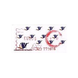 ECUADOR. Logotipo correos (4C). H058. Sello nuevo ($00.03)