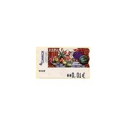 ESPAÑA. 90. Sammer G. Bodegón Tulipanes. 5E. ATM nuevo (0,01)