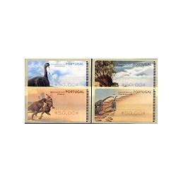 PORTUGAL (1999). Dinosaurios - SMD. ATMs nuevos ($)