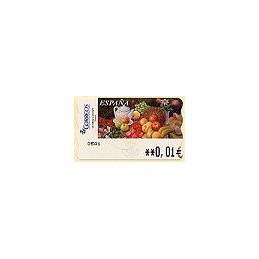 ESPAÑA. 95. Sammer Gallery. Frutas. 5E. ATM nuevo (0,01)
