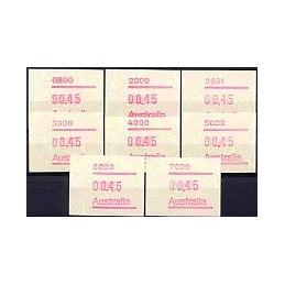 AUSTRALIA (1994). Warath. ATMs nuevos (0.45)