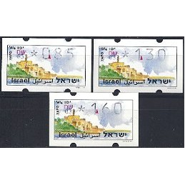 ISRAEL (1994). Turismo - Yafo - 033. Serie 3 val. (x0,85)