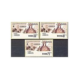 ESPAÑA. 45. Castroverde Campos. PTS-6E. Serie 3 v. (2001) fecha