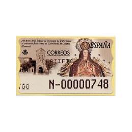 ESPAÑA. 45S. Castroverde Campos. Etiqueta control A (N-) nueva