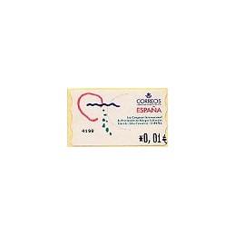 ESPAÑA. 40E. 1 Congr. Riesgos Lab. EUR-4E. ATM nuevo (0,01)