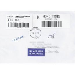 HONG KONG (2010). Emision básica (3)- HEN. Sobre a España (cert.
