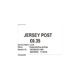 JERSEY (2009). Básica (1.1) - Postal HQ. Sello nuevo