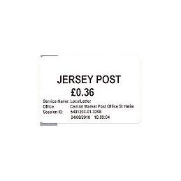 JERSEY (2010). Básica (1.2) - Central Market. Sello nuevo