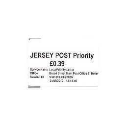 JERSEY (2010). Básica (1.2) - Main P.O. Sello nuevo (Prio)