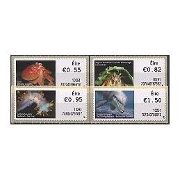 IRLANDA (2010). Animales Irlanda - 70704. Serie 4 val. (1r. día)