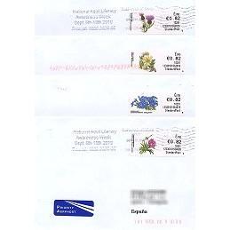 IRLANDA (2010). Flores - 123301. Sobres España (Standard)