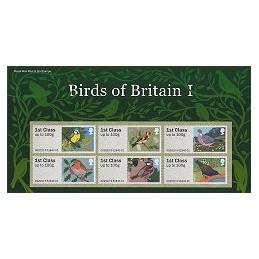 R. UNIDO (2010). Pájaros (1) - 002010 9. Carpeta con los sellos