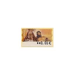 ESPAÑA. 46E. III C. Herm. Dolores Cristo. EUR-5A. ATM (0,01)