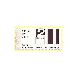 R. UNIDO (2010). Post&Go (2) - 015010 1. Sello nuevo (2 Let)